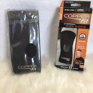 🇺🇸COPPER FIT COMPRESSION KNEE SLEEVE SIZE LARGE